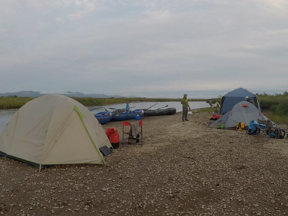 Kodiak Island fishing resort accomodations in Alaska Float Trip